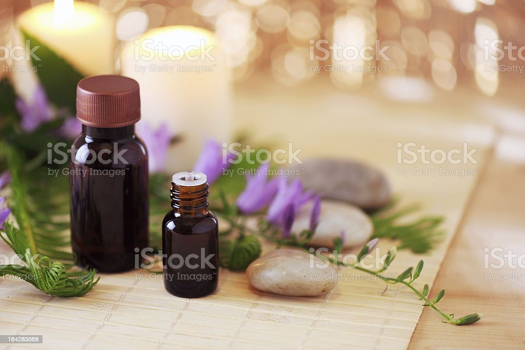 Aromatherapy oil royalty-free stock photo