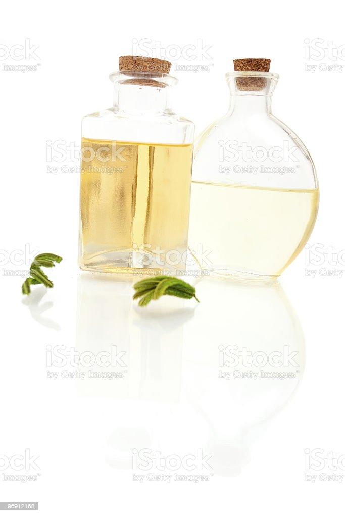 Aromatherapy oils royalty-free stock photo