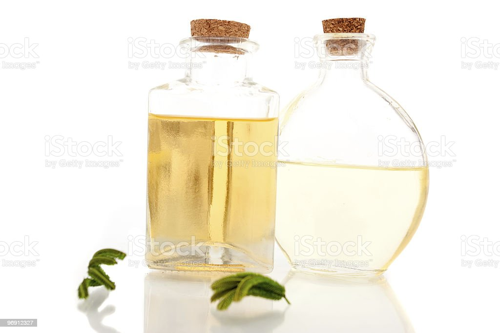 Aromatherapy oils royalty-free stock photo