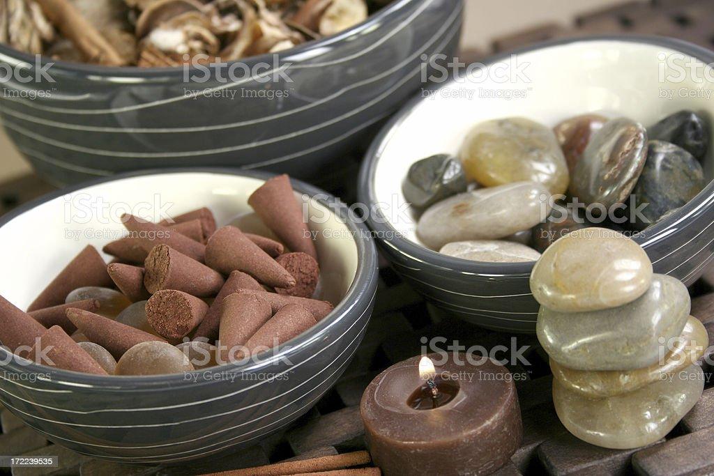 aromatherapy - Royalty-free Alternative Medicine Stock Photo
