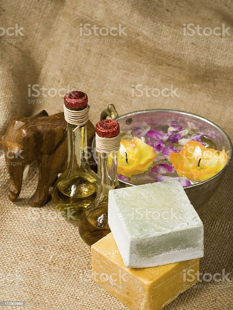 Aromatherapy royalty-free stock photo