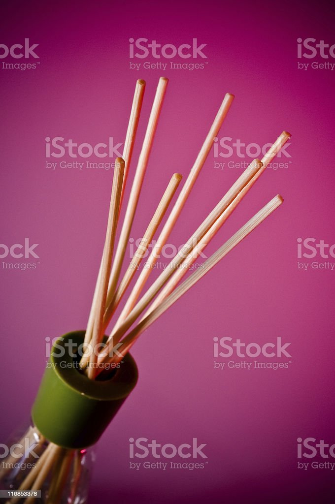 Aromatherapy Reed Diffuser royalty-free stock photo