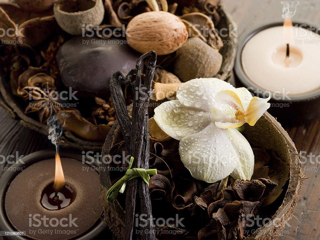 Aromatherapie-spa-Konzept – Foto