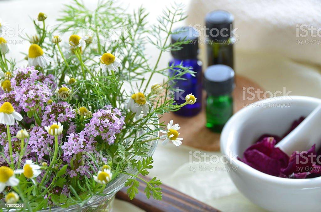 aromatherapy treatment royalty-free stock photo