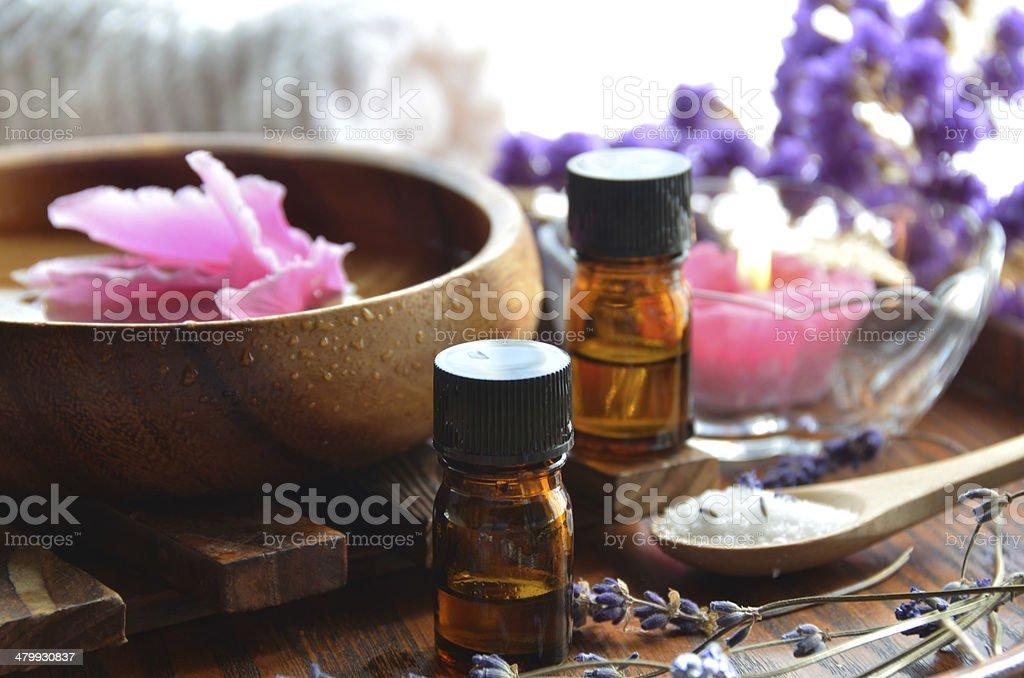 aromatherapy treatment stock photo
