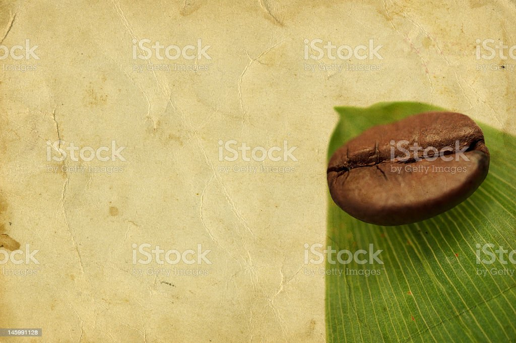 Aromatherapy with coffee royalty-free stock photo