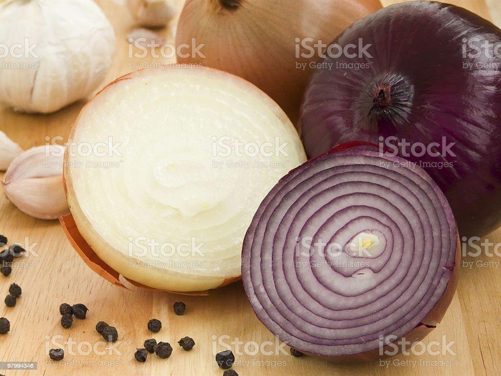 Aromatic ingredients royalty-free stock photo