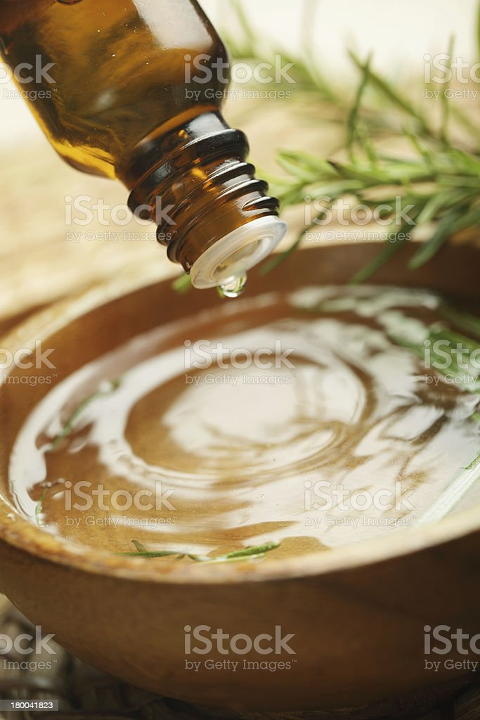 Aromatic oil royalty-free stock photo