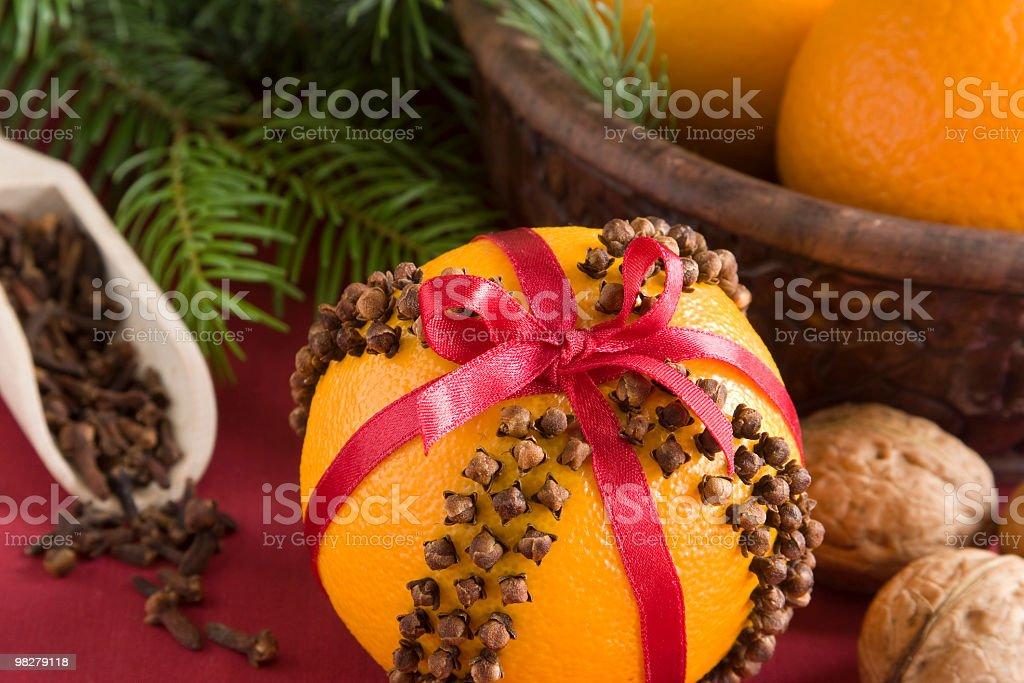 Aromatic pomander royalty-free stock photo