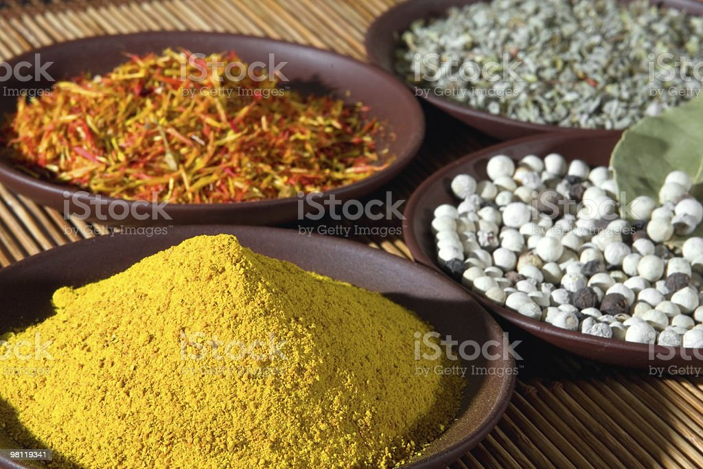 Aromatic spices royalty-free stock photo