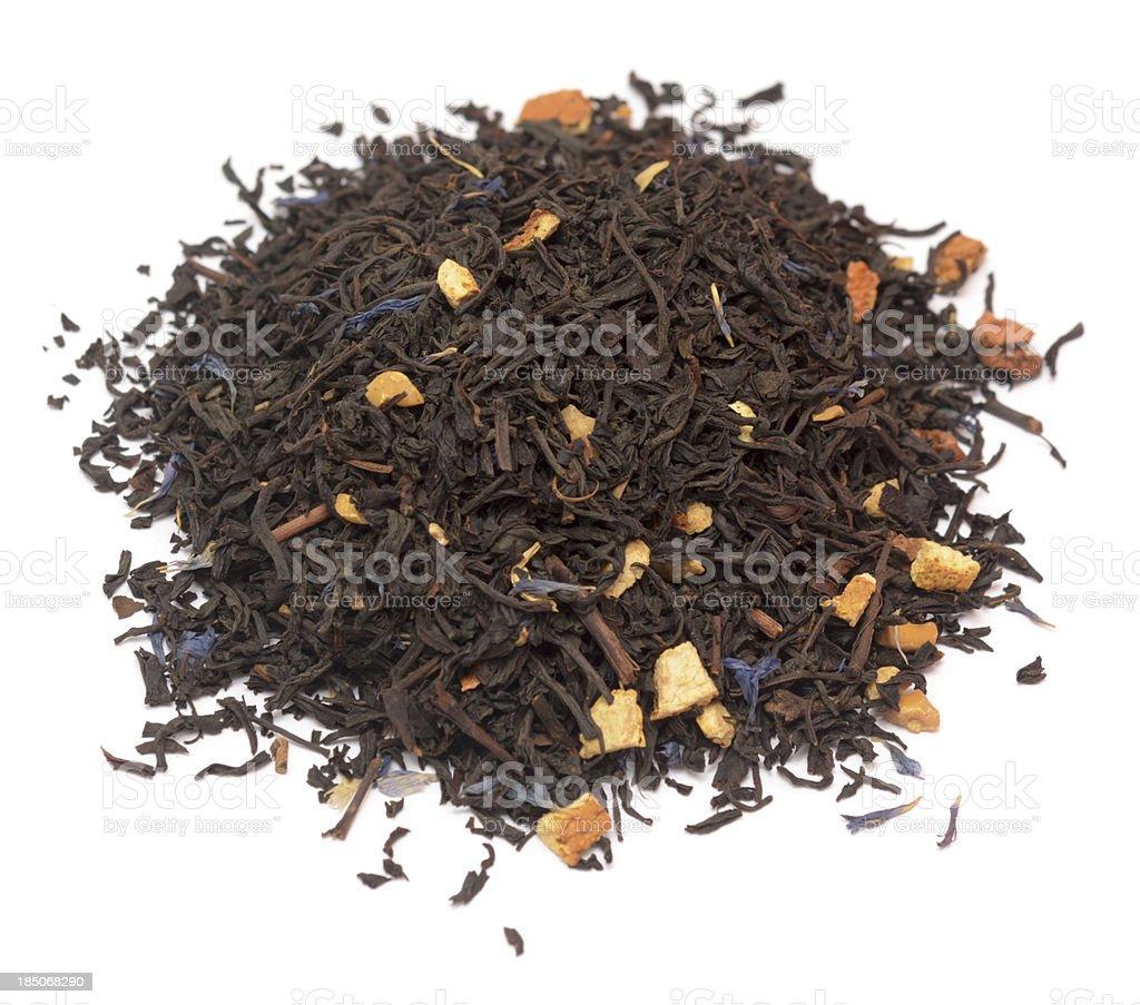 aromatic tea stock photo