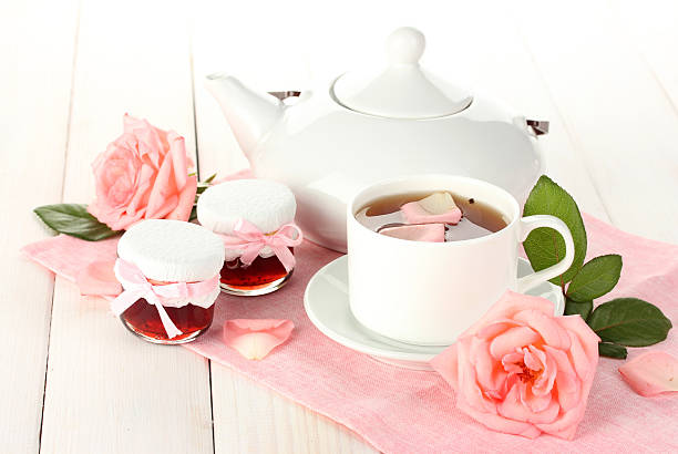 Aromatic tea. stock photo