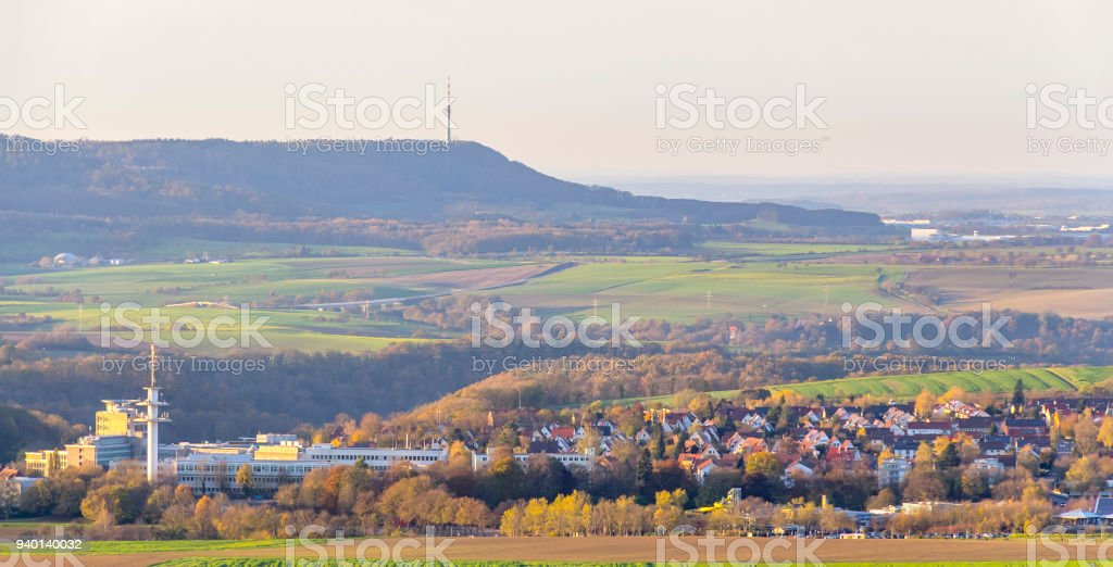 around Einkorn near Schwaebisch Hall stock photo