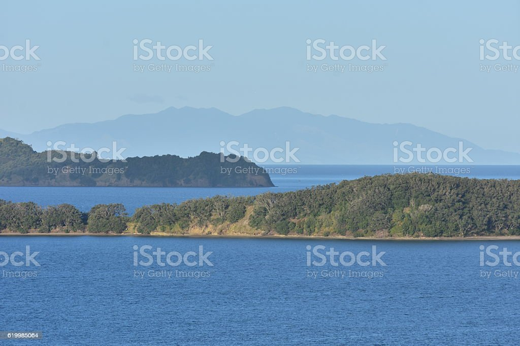 Around Mahurangi Harbour stock photo