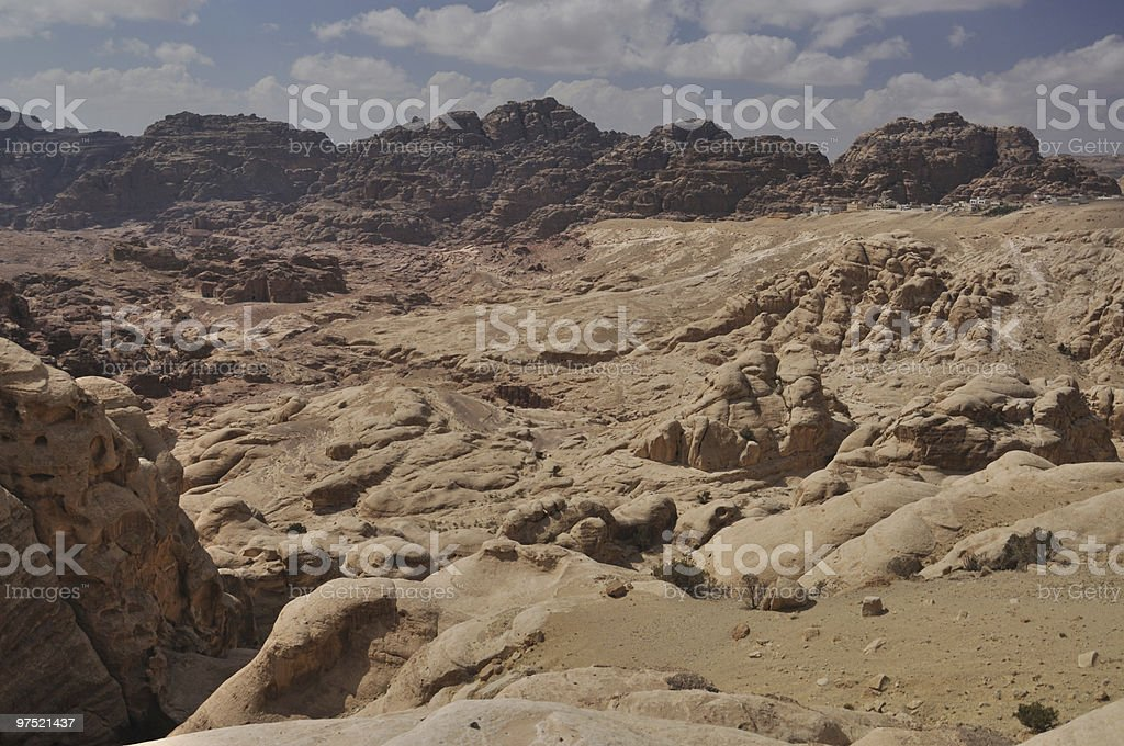 Around the Petra, Jordan royalty-free stock photo