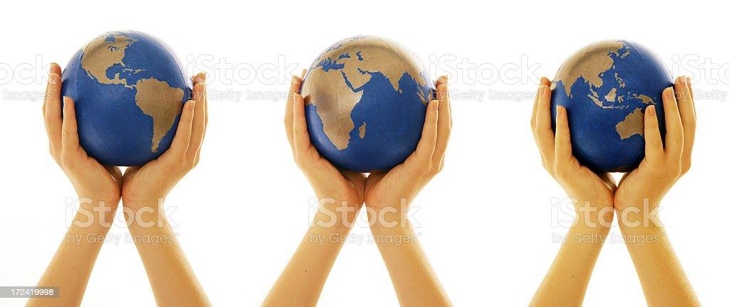 Around the world royalty-free stock photo
