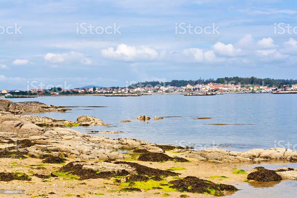 Arousa island royalty-free stock photo