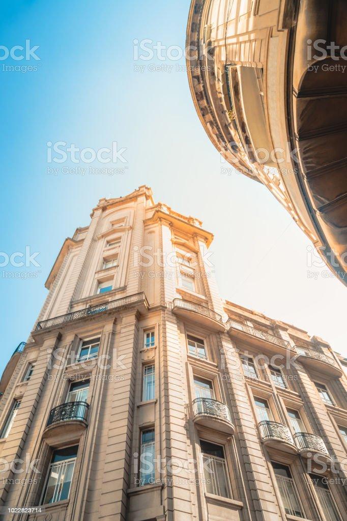 Arquitectura del Centro de Buenos Aires stock photo