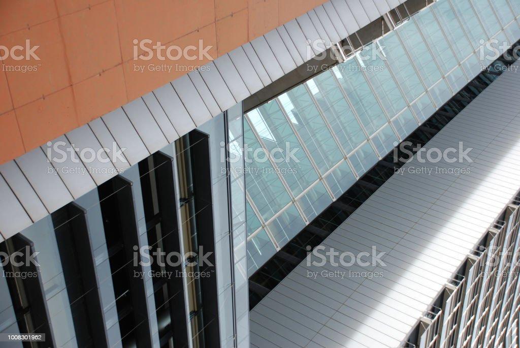 Arquitectura en Barcelona stock photo