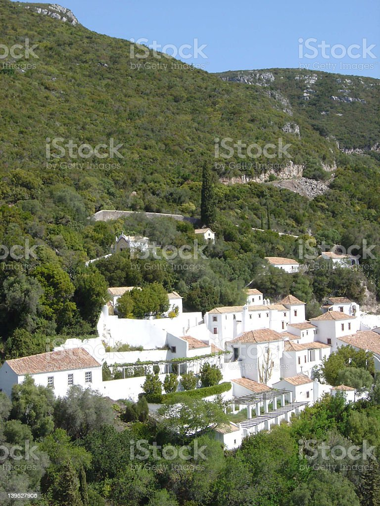 arrabida convent2 royalty-free stock photo