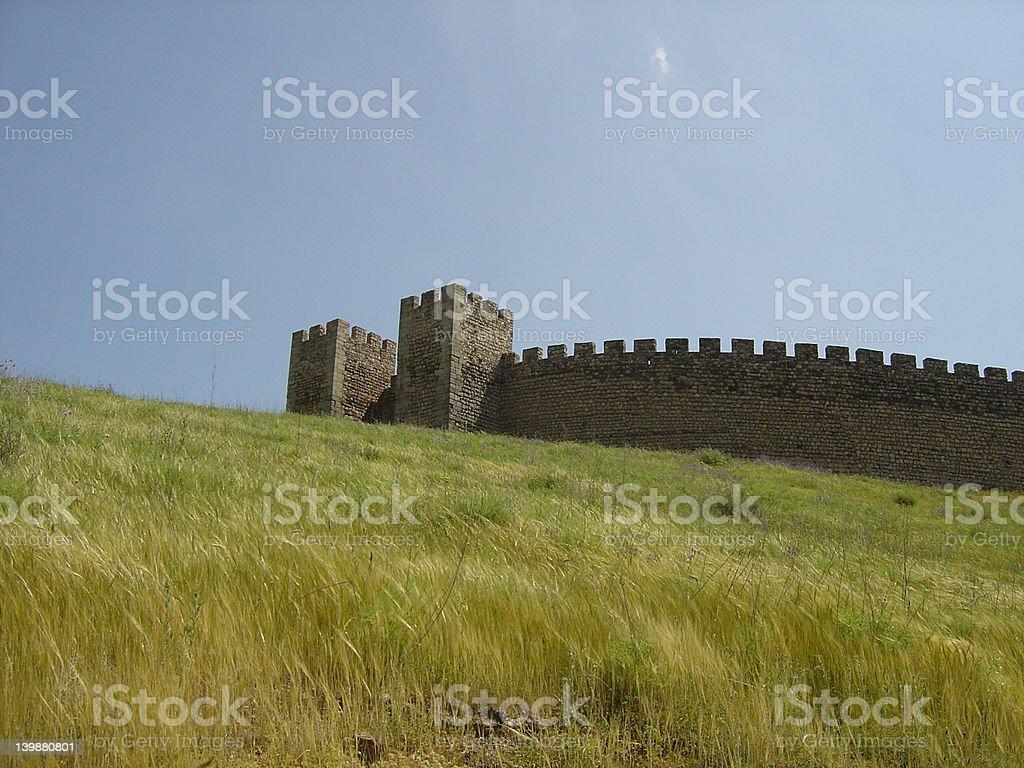Arraiolos3-Castle royalty-free stock photo