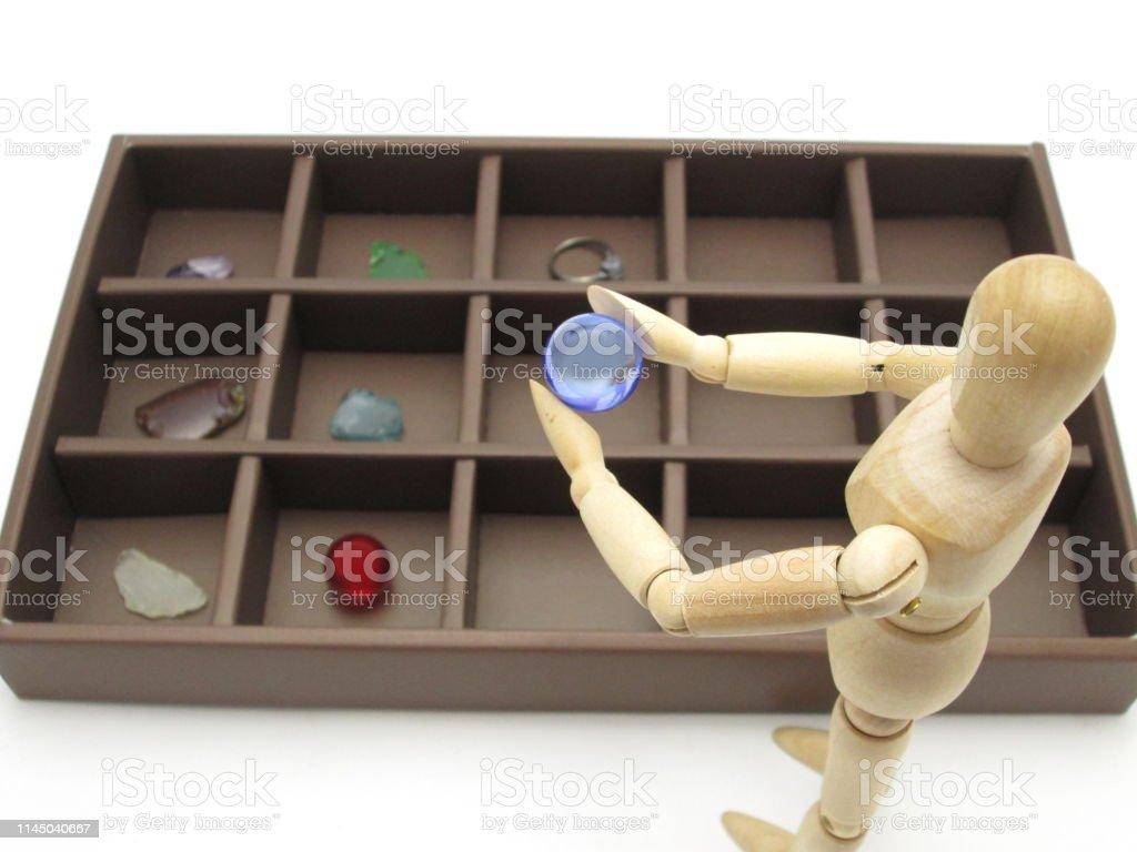 Arrange in a box