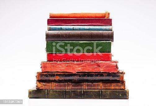 Arranged Old Books