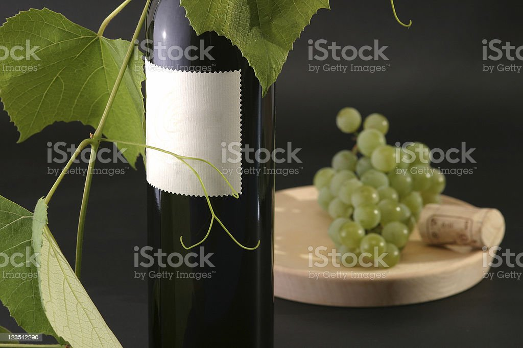 Arrangement for wine royalty-free stock photo