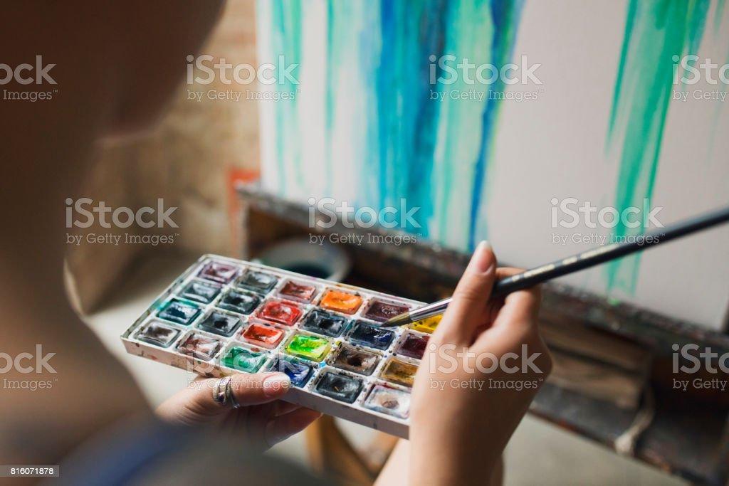 Arreglo de colores - foto de stock