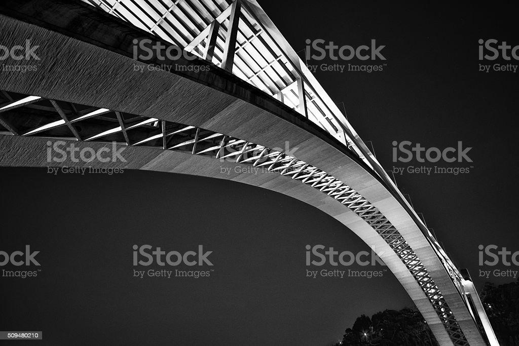Arrábida Bridge, Porto, Portugal stock photo