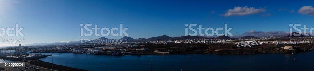 Arrecife Lanzarote Spanien stock photo