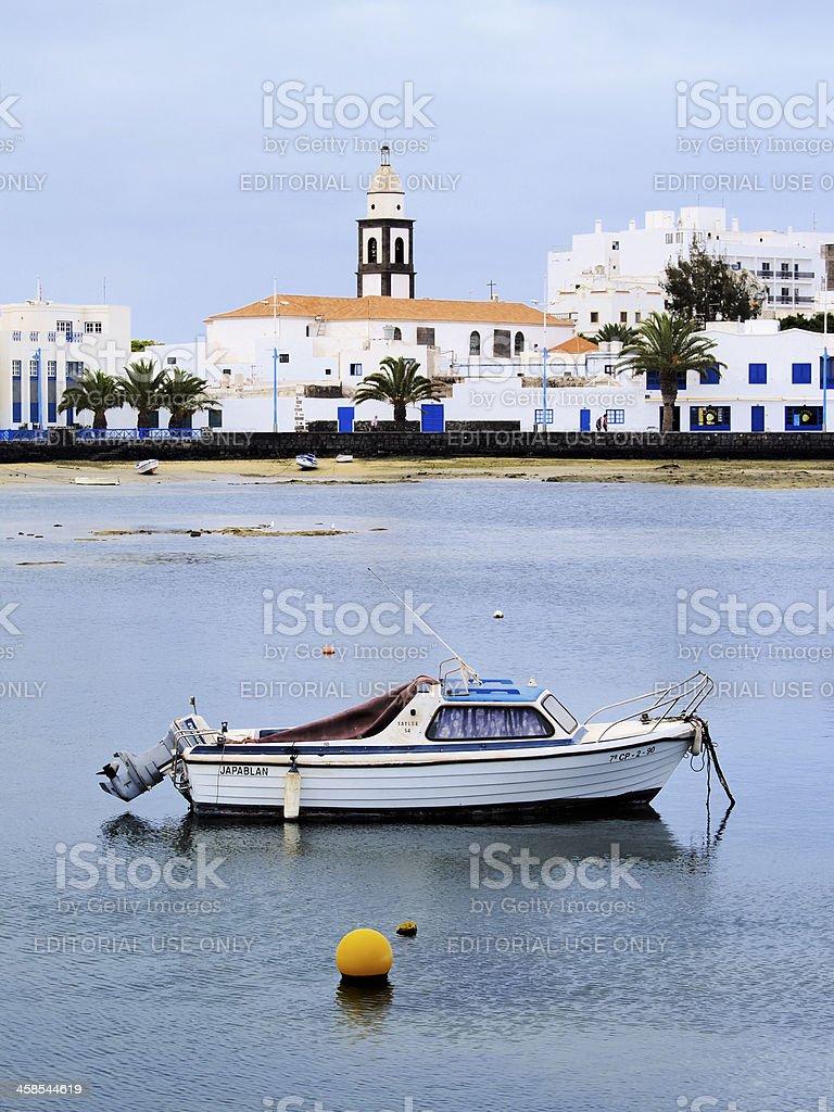 Arrecife on Lanzarote royalty-free stock photo