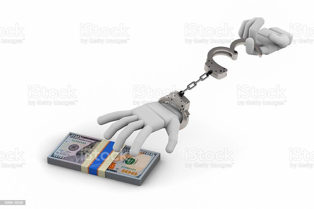 arrest criminal hands stock photo