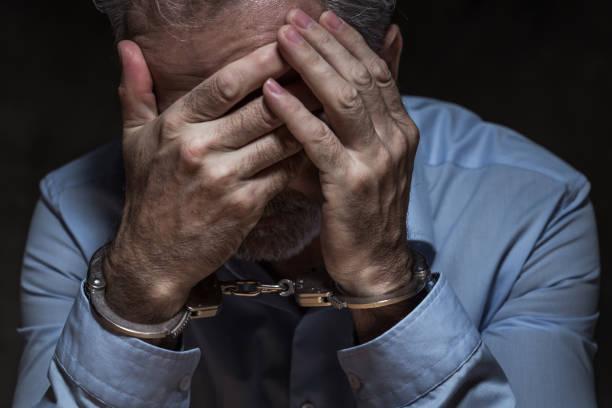 Verhaftter Geschäftsmann – Foto