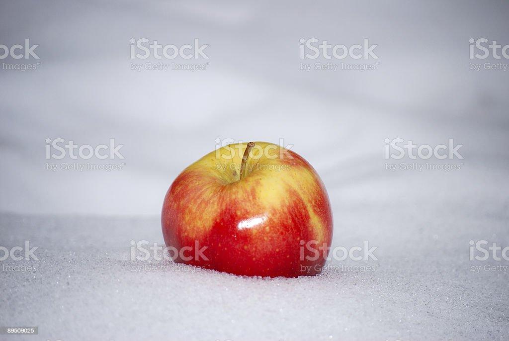 Arresting Apple royalty-free stock photo
