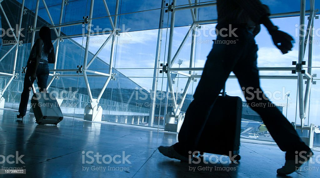 Arrival and departure royalty-free stock photo