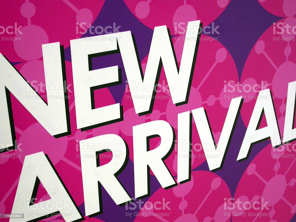Arrival New royalty-free stock photo