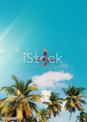 925925874 istock photo Arrival on tropical summer vacation 984128998
