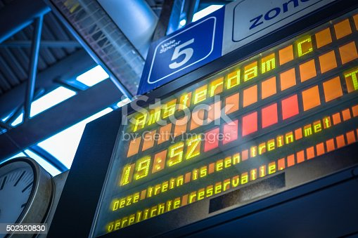 469824732istockphoto arrivals and departures information board Europe 502320830