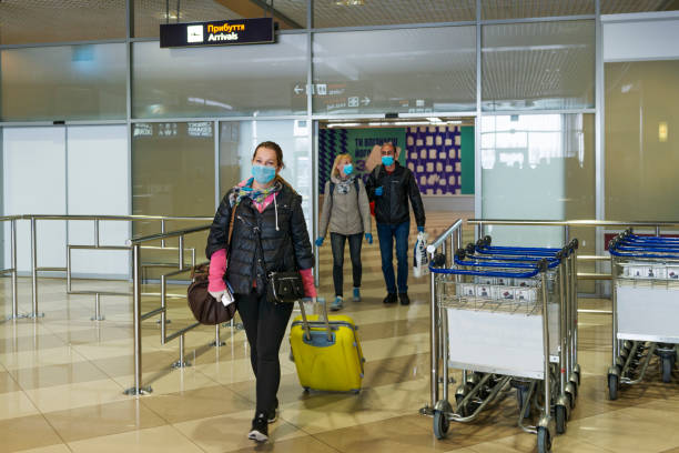 Arrivals gate of Boryspil airport