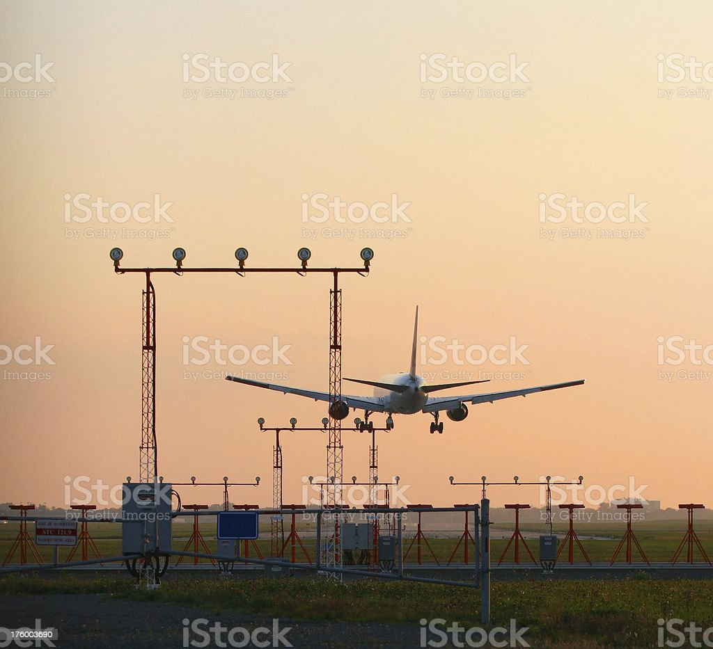 Arriving at destination royalty-free stock photo