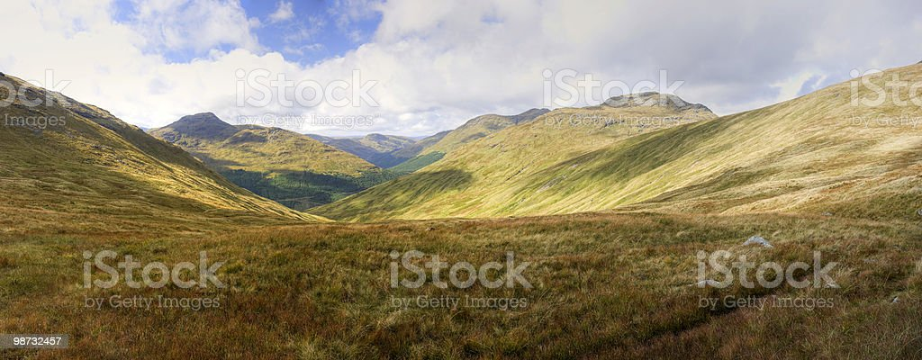 Arrochar Alpes foto royalty-free