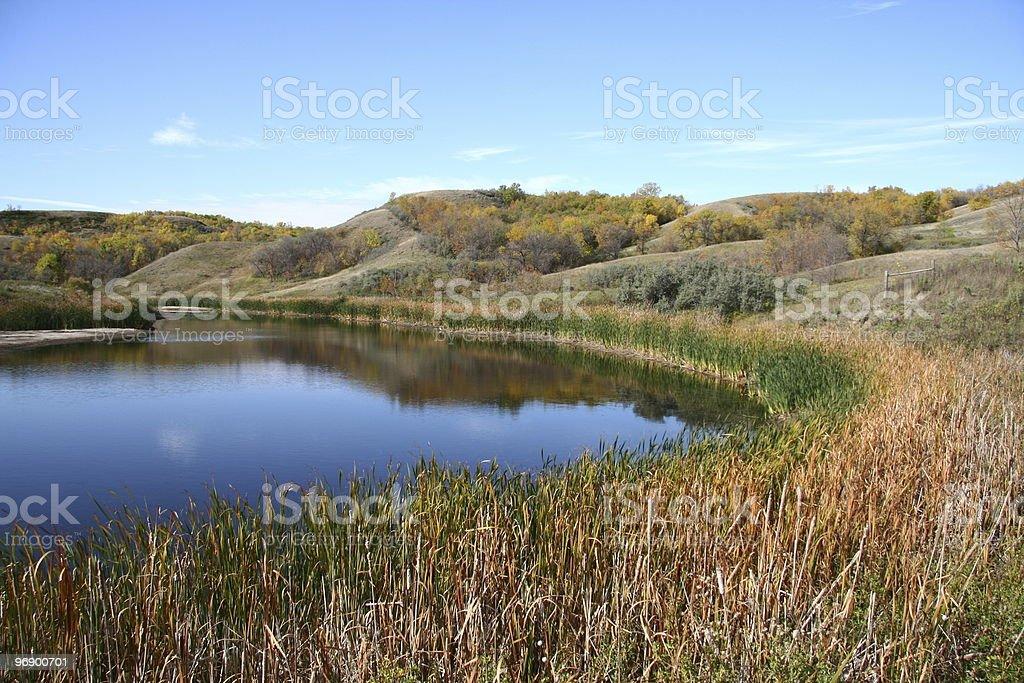 Arroda Lake in Fall royalty-free stock photo