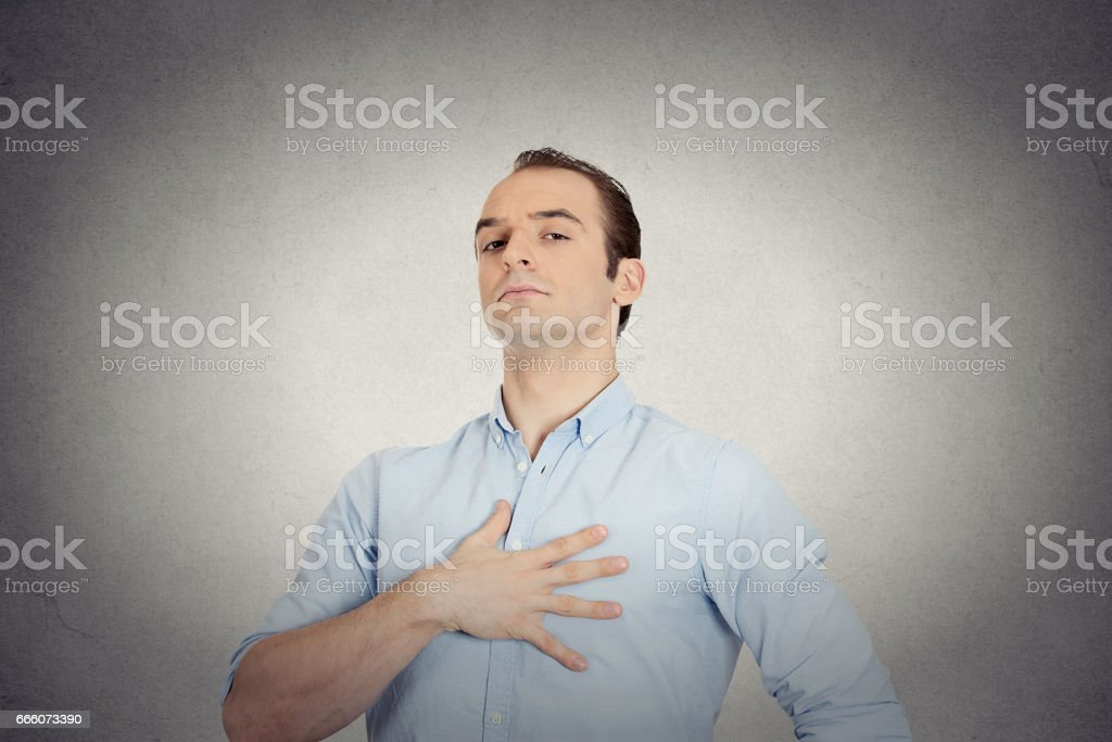 arrogant aggressive bold self important uppity stuck up man with napoleon complex stock photo
