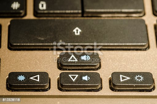 812823858istockphoto arrow, a keyboard detail 812328118