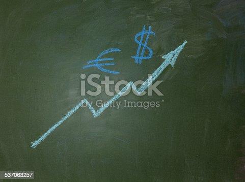 istock arrow and money symbol 537063257