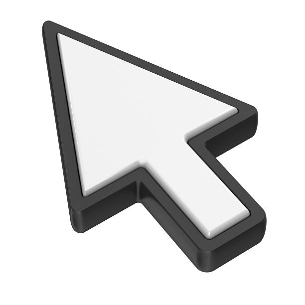 arrow cursor - mouse pointer stock photos and pictures