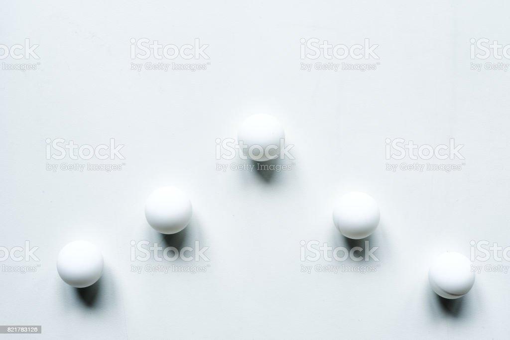 Seta de bolas - foto de acervo