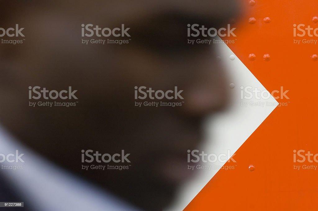 arrow head stock photo