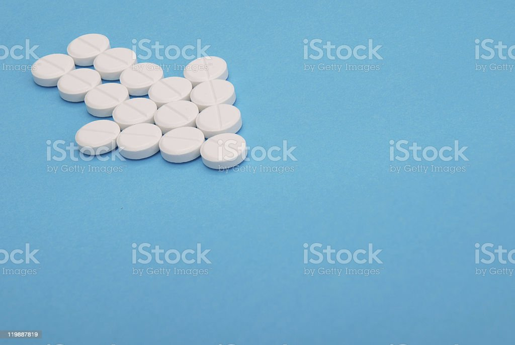 Arrow of Pills royalty-free stock photo